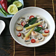 Tom Kha Soup with Shrimp
