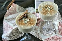 Spiced Hempmilk Tapioca Pudding from www.EverydayMaven.com