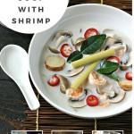 Tom Kha Soup with Shrimp from www.EverydayMaven.com