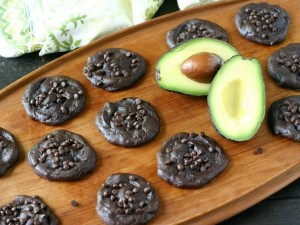 Double Chocolate Avocado Cookies from www.EverydayMaven.com