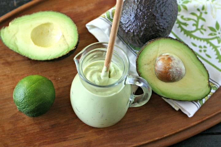 Dairy Free Avocado Crema from www.EverydayMaven.com