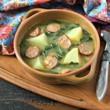 Caldo Verde Soup {Portuguese Green Soup}