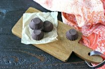 Vegan Chocolate Freezer Fudge from www.EverydayMaven.com