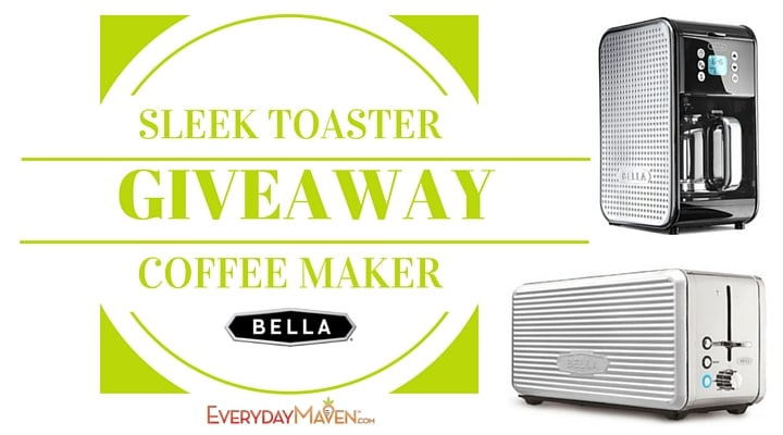 5 Ways To Make Mornings Easier PLUS Win a Coffee Maker AND Toaster