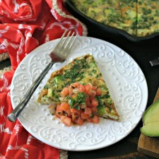 Deconstructed Guacamole Frittata plus a Giveaway!