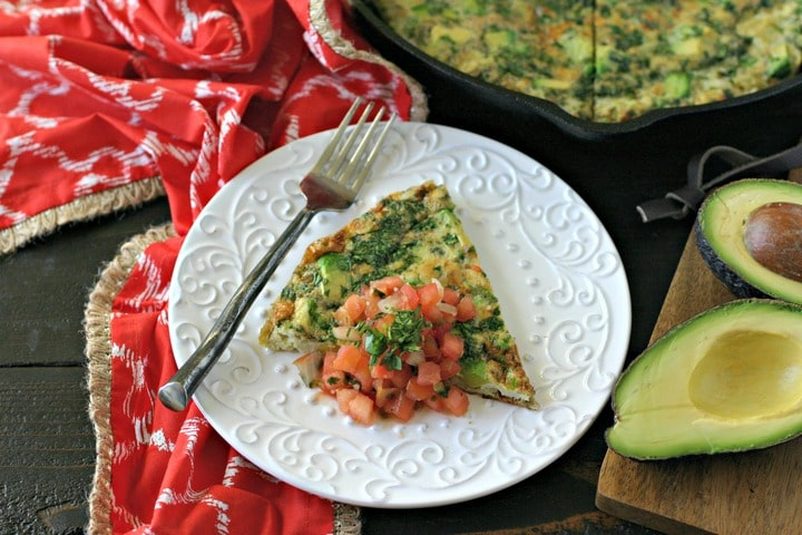 Deconstructed Guacamole Frittata from www.everydaymaven.com