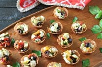 Salami Antipasto Bites from www.EverydayMaven.com