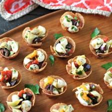 Salami Antipasto Bites {Low Carb, Grain Free}