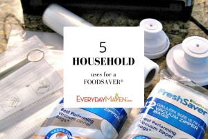 5 Ways To Use a FoodSaver® from www.EverydayMaven.com