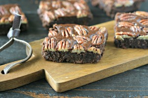 Maple Pecan Brownies {Grain Free}