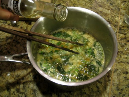 Ingredients for Spinach Egg Drop Soup from www.EverydayMaven.com