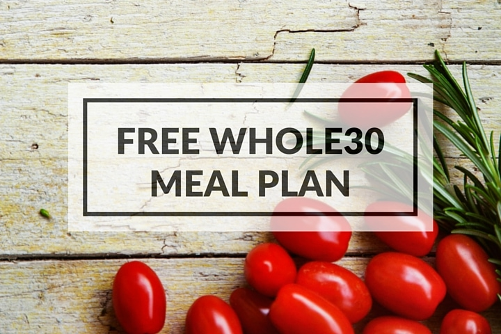 Whole30 meal plan for weight loss clinic