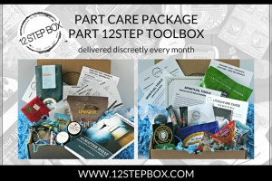 12StepBox subscription box for people in 12step recovery