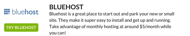 BLUEHOST HOSTING
