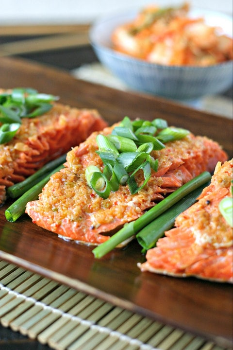 Roasted Salmon With Butter Recipe — Dishmaps