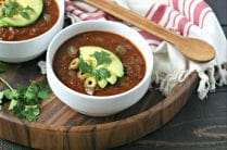 Instant Pot Beef Heart Chili from www.EverydayMaven.com