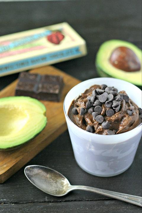 Chocolate Avocado Pudding from www.EverydayMaven.com