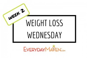 Weight Loss Wednesday with www.EverydayMaven.com