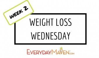 Weight Loss Wednesday – Week #2