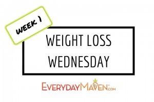 Weight Loss Wednesday from www.EverydayMaven.com