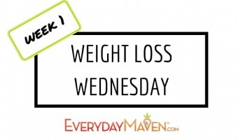Weight Loss Wednesday – Week 1
