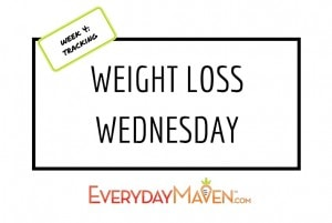 Weight Loss Wednesday Tracking with www.EverydayMaven.com