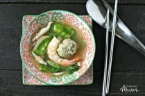 Wonton Less Wonton Soup from www.EverydayMaven.com