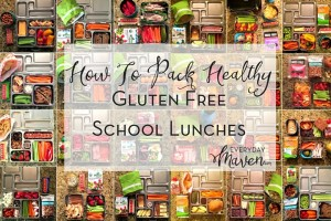 How To Pack Gluten Free School Lunches