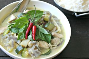 Quick Green Curry Chicken
