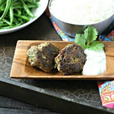 Spiced Lamb Meatballs with Tzatziki