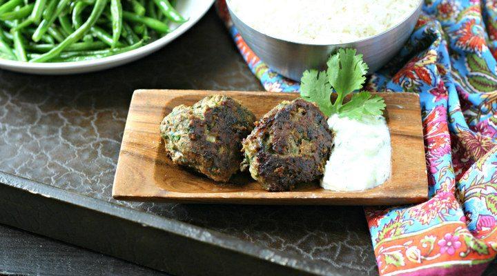 Spiced Lamb Meatballs with Tzatziki