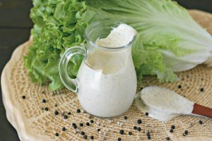 Dairy Free Peppercorn Ranch Dressing