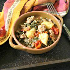 Instant Pot Andouille Sausage Stew