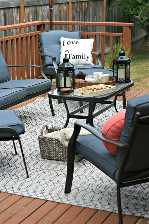 Outdoor Living Room from Fred Meyer on www.EverydayMaven.com