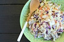 Creamy Chipotle Slaw from www.EverydayMaven.com