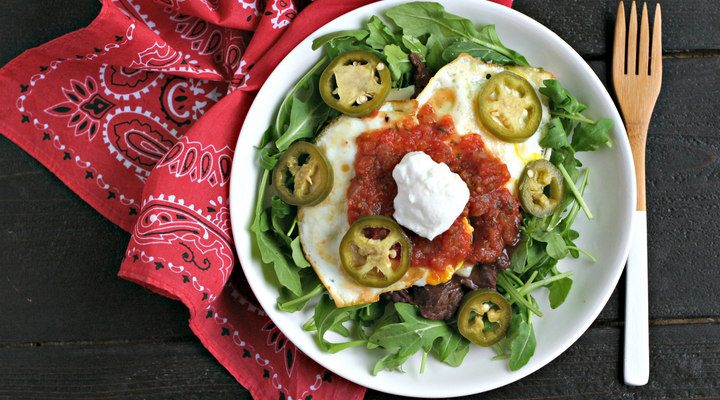 Gluten Free Mexican Breakfast Bowl