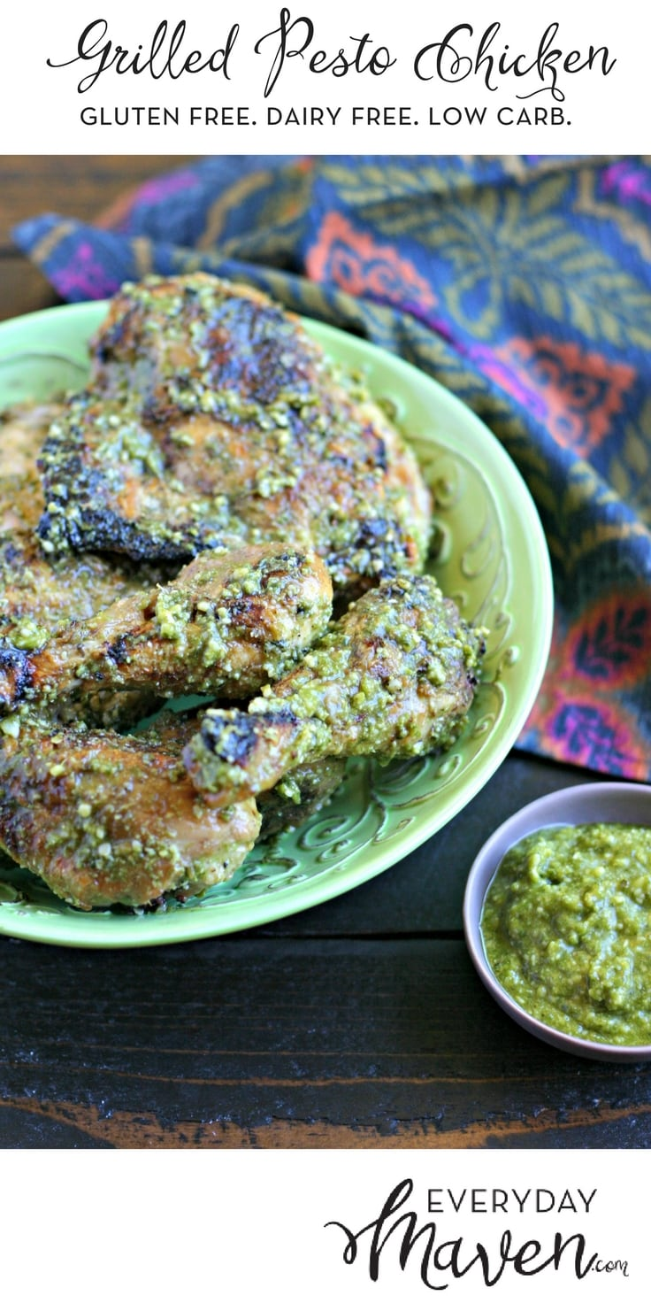 Pesto Grilled Chicken is a quick and easy weeknight preparation this is tasty served cold or hot, which means you can make it in advance!