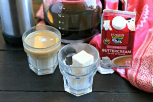 Coffee Creamer Ice Cubes from www.EverydayMaven.com