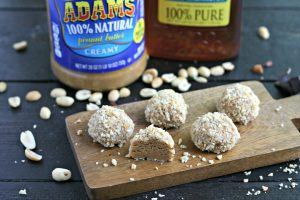 No-Bake Honey Nut Truffles