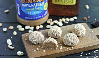 No-Bake Honey Nut Truffles
