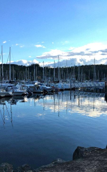 Bainbridge Island Harbor on www.EverydayMaven.com