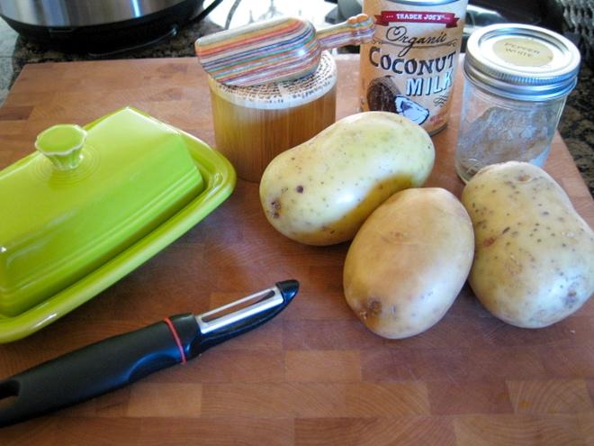 ingredients to make instant pot mashed potatoes