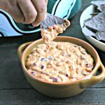 3-Ingredient Slow Cooker Creamy Salsa Dip
