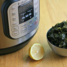 3-Minute Instant Pot Kale