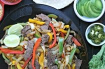 Grilled Beef Fajitas from www.EverydayMaven.com