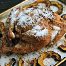 Salt Crust Roasted Chicken Recipe