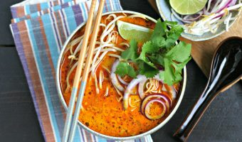 Northern Thai Curry Soup with Chicken