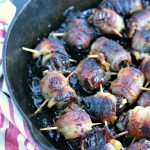 Grilled Bacon Wrapped Stuffed Dates from www.EverydayMaven.com