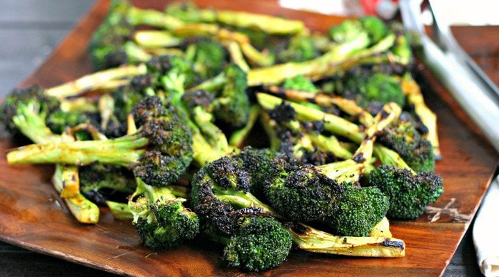 Perfect Grilled Broccoli