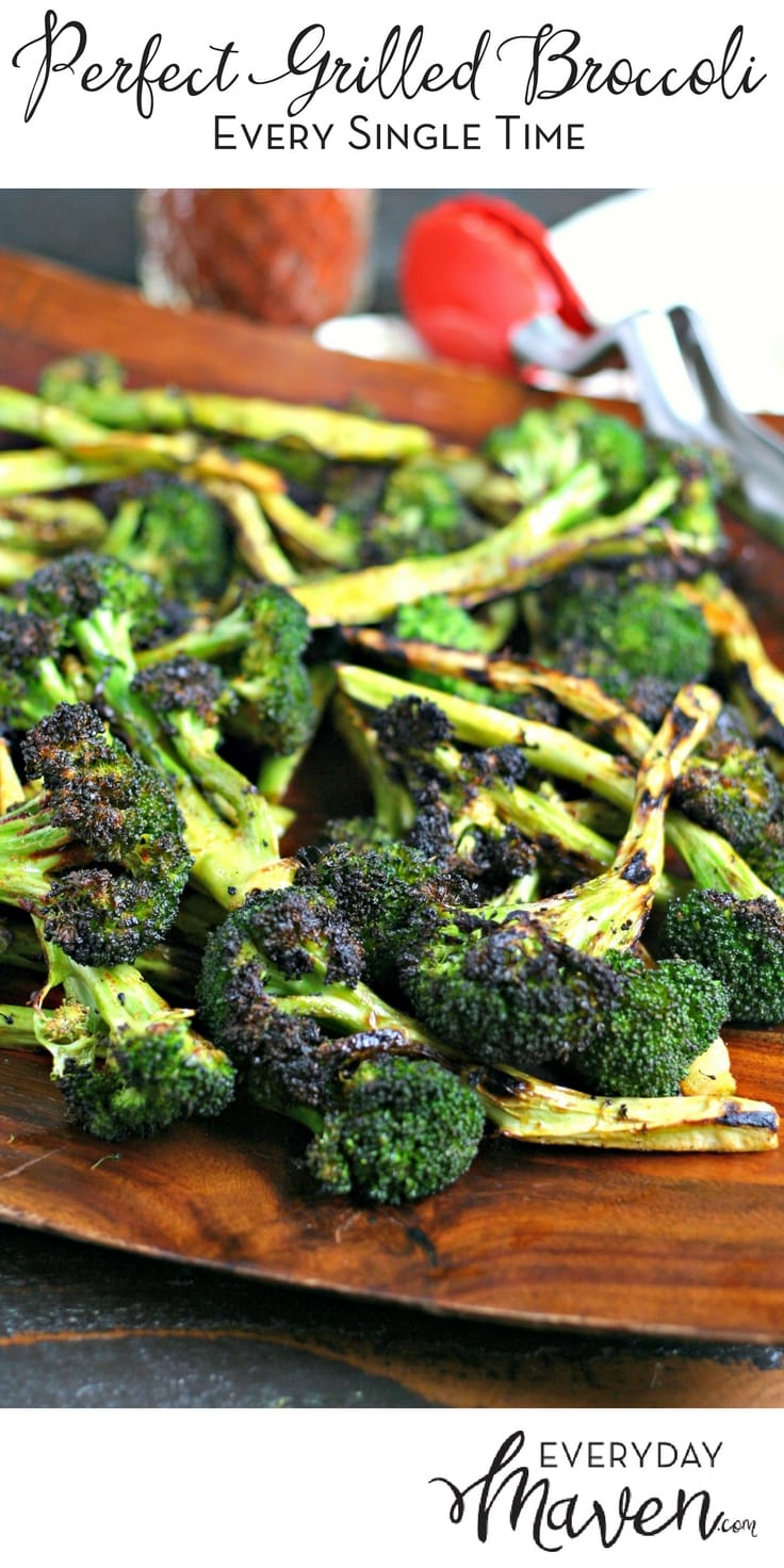 How to Make Perfect Grilled Broccoli every single time without pre-cooking the broccoli. Made in partnership with Coyote Outdoor Living.